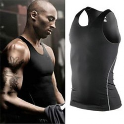 Sports Training Pro Collant Compression Vest Men Abito veloce da corsa con corto di allenamento