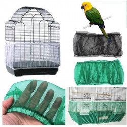 Airy Fabric Mesh Bird Cage