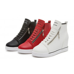 Bright Leather Van High Top Womens