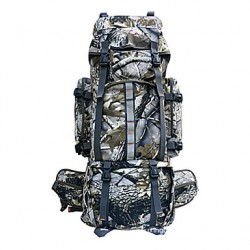 Grande capienza Outdoor Camping Camouflage Backpack 80L