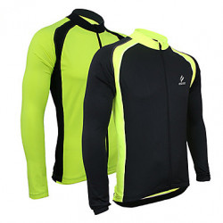 Arsuxeo Uomo Cycling Jersey manica lunga Bicicletta Maglia manica lunga Outdoor Sporting Coat