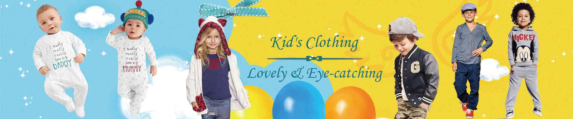 Kids and baby clothes introduction